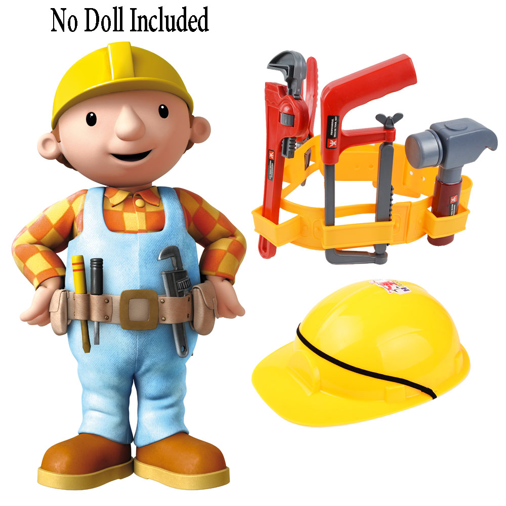 Construction Play Toys : Construction worker role play dress up set kids engineer
