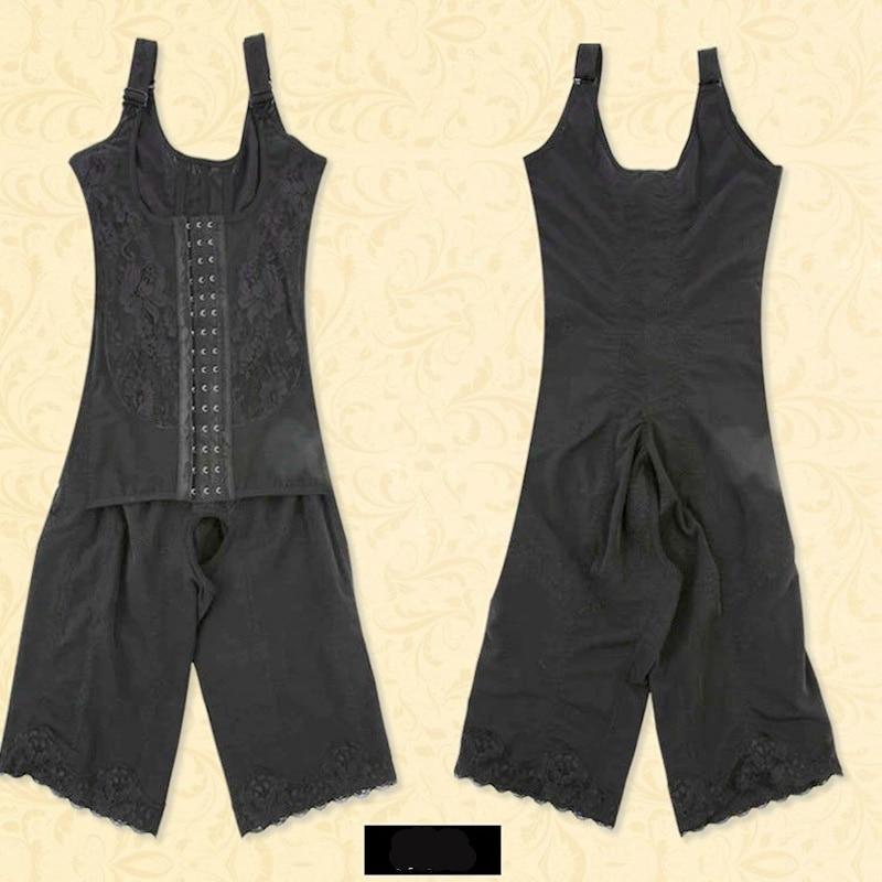 Adjustable Shoulder Strap Full Body Shaper Bodysuits Waist Trainer Corset Women Waist Cincher Tummy Control Slimming Shapewear in Bodysuits from Underwear Sleepwears