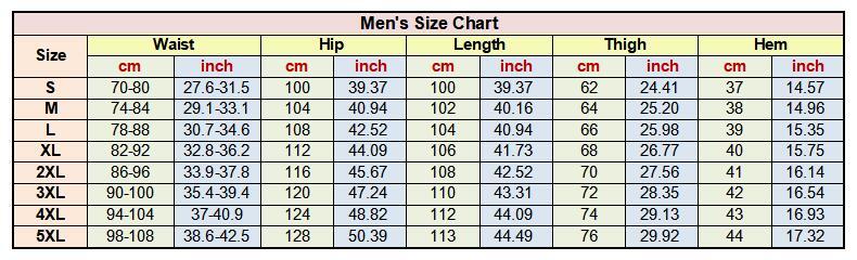 size men 790