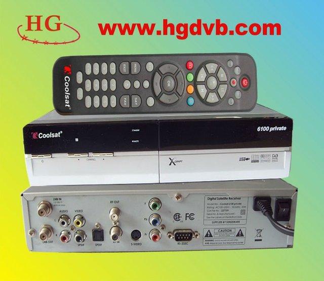 Coolsat 6100 satellite receiver with x fta router surport nagar3.