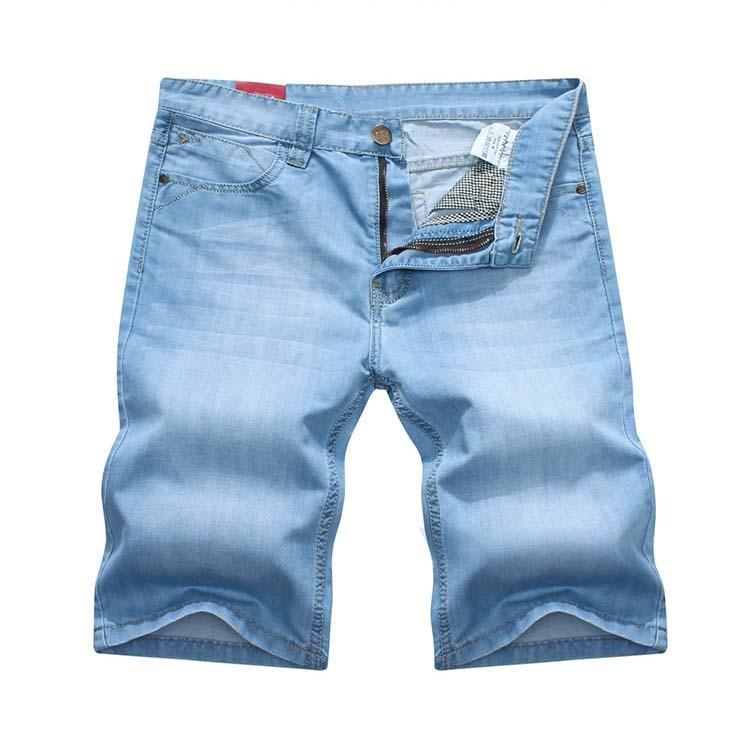 HOT Sale Men's Short Jeans Fashionable All Match Denim Shorts Capris For Men Plus Size Free Shipping
