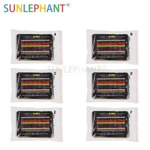 Image 1 - 2880 stks 144 Waarden 6 Pakket 1/4 w 0.25 w 1% Metal Weerstanden Diverse Pack Kit Set veel Weerstanden Assortiment Kits
