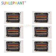 2880pcs 144 Values 6Package 1/4W 0.25W 1% Metal Film Resistors Assorted Pack Kit Set Lot Resistors Assortment Kits