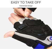 INBIKE Cycling Gloves Men Mountain Bike Gloves 5MM Gel Pad Shock-Absorbing Anti- Slip Racing Breathable MTB Road Bicycle Gloves