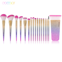 Docolor New Professional Fantasy Makeup Brushes Synthetic Bristles Contour Brush Blending Make UP Brushes Cosmetics Tool