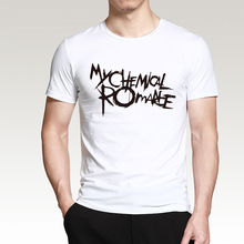 2017 summer new Science t shirt My Chemical Romantic letters print fashion casual loose 100% cotton high quality brand top tees