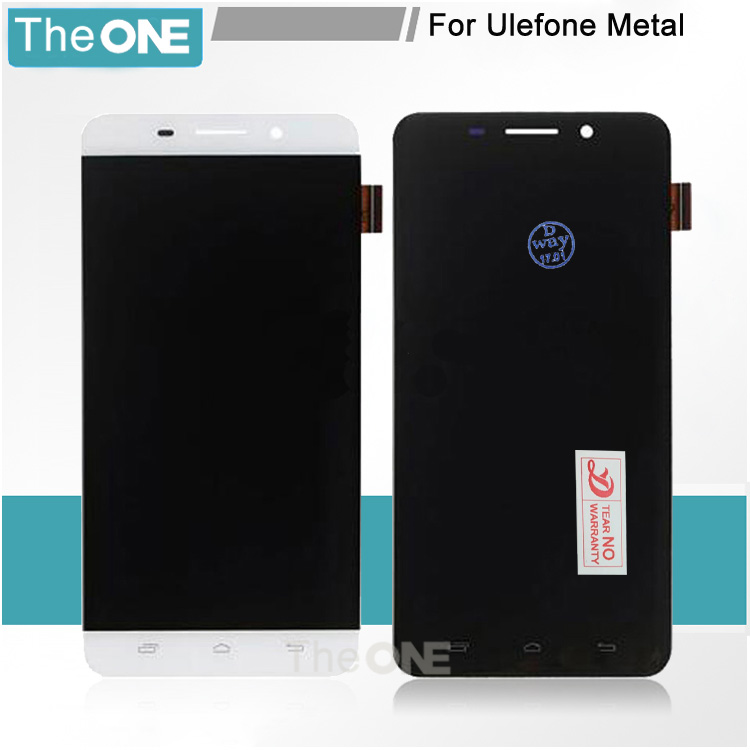 For Ulefone Metal LCD Display Screen Digitizer Assembly Replacement lcd for ulefone metal lcd Free Shipping