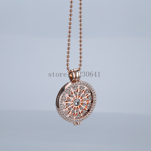 Coin necklace 35mm pendants disc fits 33mm coins holder fashion jewelry locket