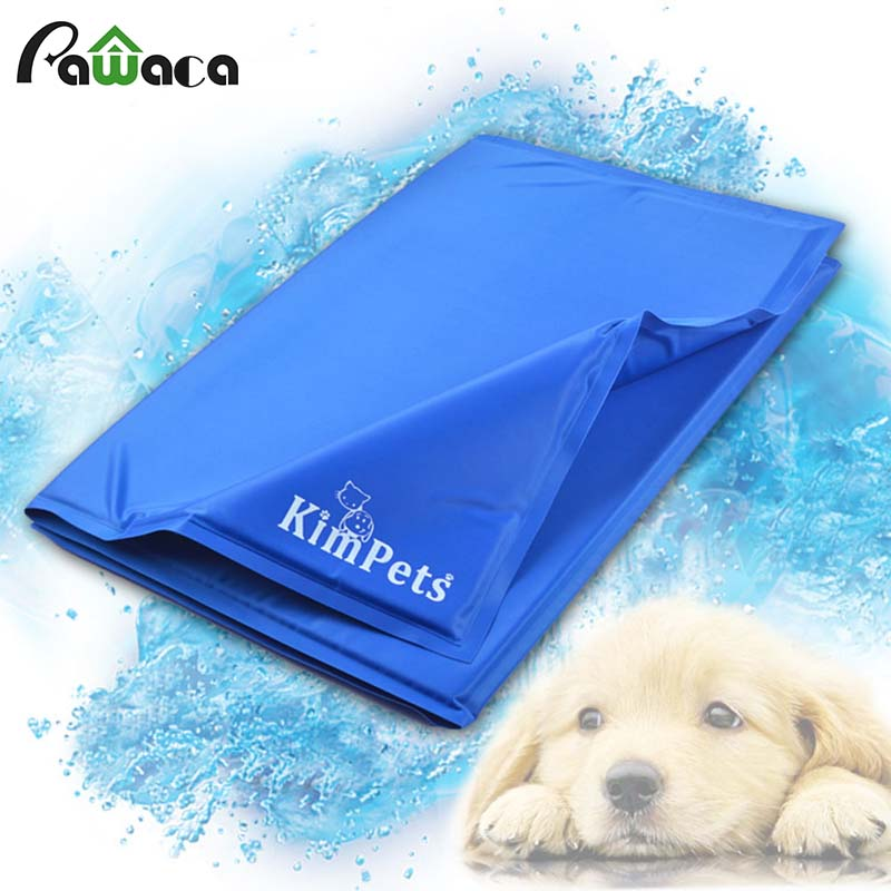 Pet Cooling Bed Mat Dog Summer Cooling Bed Mat Pad Cushion Teddy Chihuahua Puppy Pet Cat Dog Sleeping Cool Mat