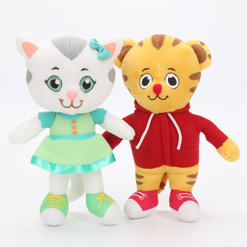 """Cute Daniel Tiger/'s Neighborhood Daniel Tiger Plush Toy Doll 11""""//""""8/"""" 20cm//30cm"""