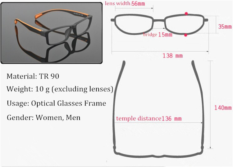 tr90 glasses frame (1)