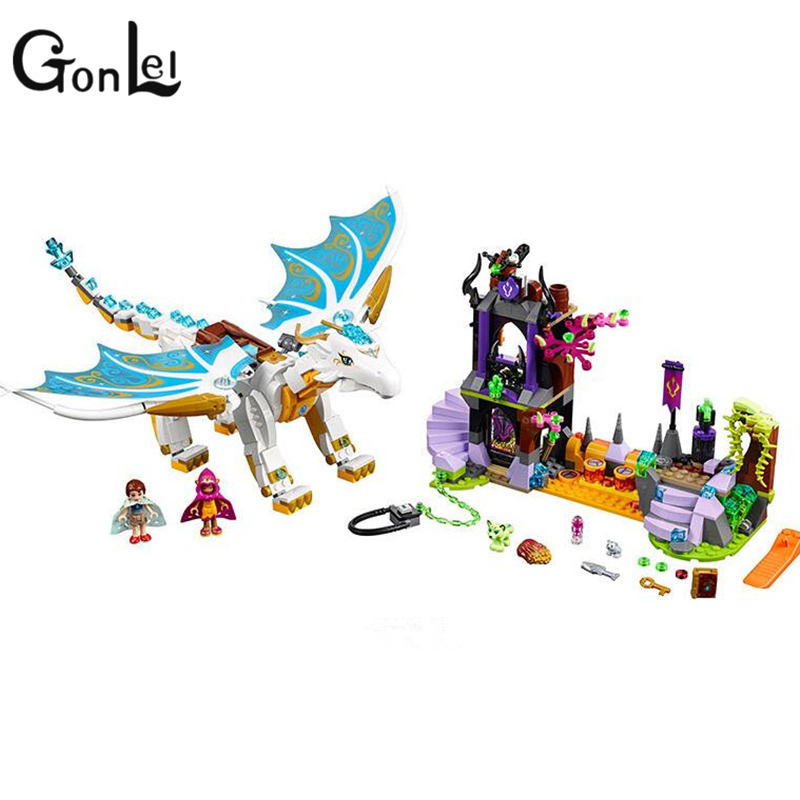 GonLeI Bela Elves 10550 The Elf Series Of Long After The Rescue Cction Blocks With Lepin 41179 Girls Building Blocks Bricks Toys the rescue