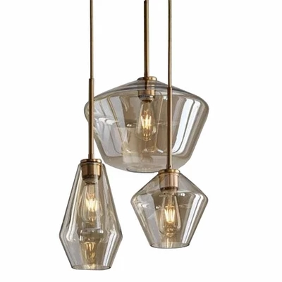 Modern glass dining lighting pendant lamp clear/Cognac glass nordic hang lamp bar cafe restaurant sitting room lighting fixturesModern glass dining lighting pendant lamp clear/Cognac glass nordic hang lamp bar cafe restaurant sitting room lighting fixtures