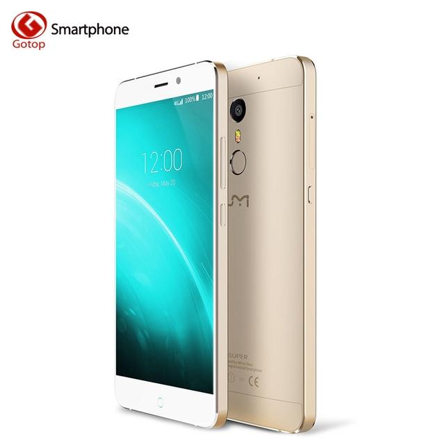 Original Umi Super Smartphone 5.5 Inch Android 6.0 MT6755 Octa Core Mobile Phone 4GB RAM 32GB ROM 4000mAH Fingerprint Cell Phone