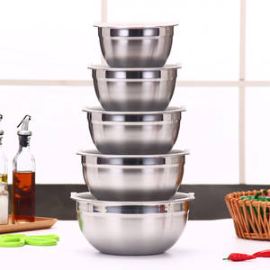yuekaisi Mixing Bowl Stainless Steel Cake Salad Kitchen