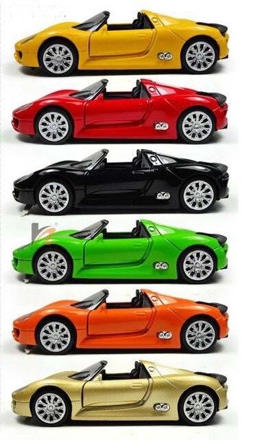 super 128 classic sports car models children kids pull back alloy car models collectors