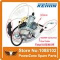 Genuine KEIHIN 30mm Carburador Acelerando Bomba Racing 200cc 250cc ABM IRBIS TTR 250 Carburador + Cotovelo Cabo Do Acelerador Duplo