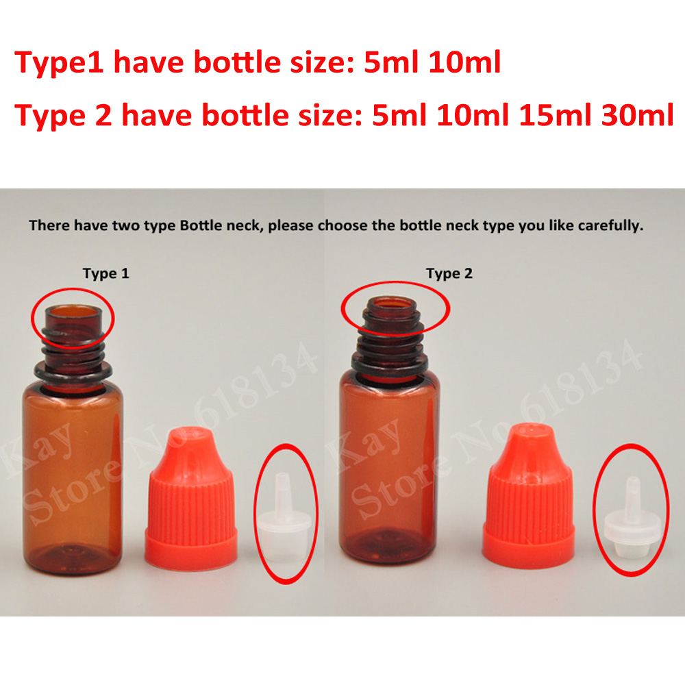 Aliexpress com : Buy Kay Yu 3000pcs 10ml PET bottle 5ml sample jar 15ml  30ml empty e vape liquid oil droper bottles wholesale from Reliable  Refillable