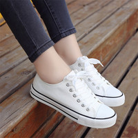 Sapato Feminino 2017 Women White Shoes Autumn Winter Soft Comfortable Casual Shoes Flats Platform Sneakers Real