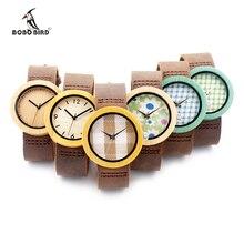 6 Tipos de 3.7 CM Mulheres Relógios Relógio De Madeira de Luxo Feminino Moda casuais Relógio de Quartzo Das Senhoras do Relógio de Pulso para As Mulheres como Presentes itens