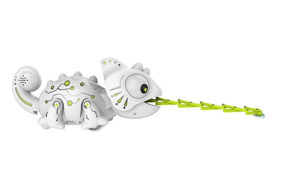 2.4chz rc robô dinossauro brinquedos camaleão animal