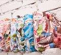 3 pçs/lote merries fralda feliz flauta fralda de pano de Microfibra impresso anti deslizamento lateral Infantil Baby fraldas de Pano Fraldas reutilizáveis