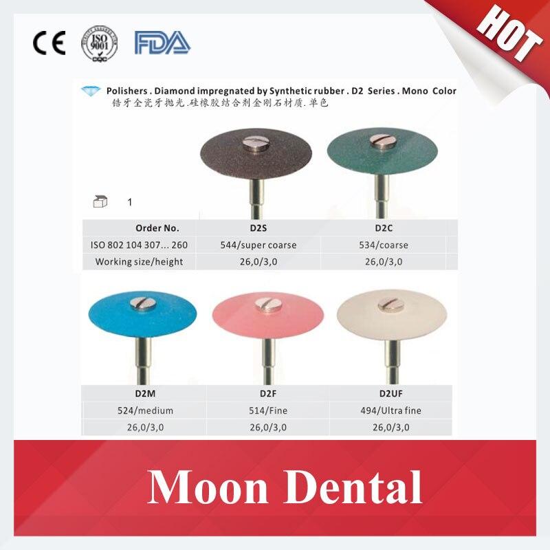 5 stuks/partij Tandheelkundige Polijsten Gereedschap Diamantslijper (Super Grof, Medium of Fijn) voor Zirconia en Alle soorten Keramiek-in Huidverzorgingshulpmiddelen van Schoonheid op  Groep 2