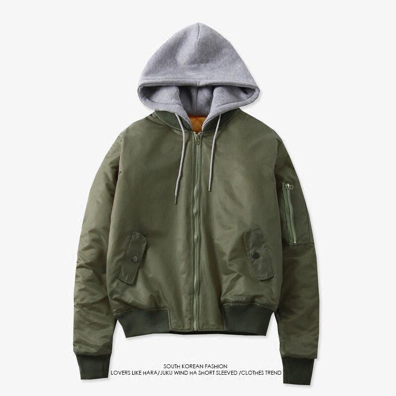 Мужская однотонная осенняя куртка-бомбер на молнии BTS Kpop Jimin Same стиль новый толстый простой ретро дикий летный костюм теплая куртка пальто