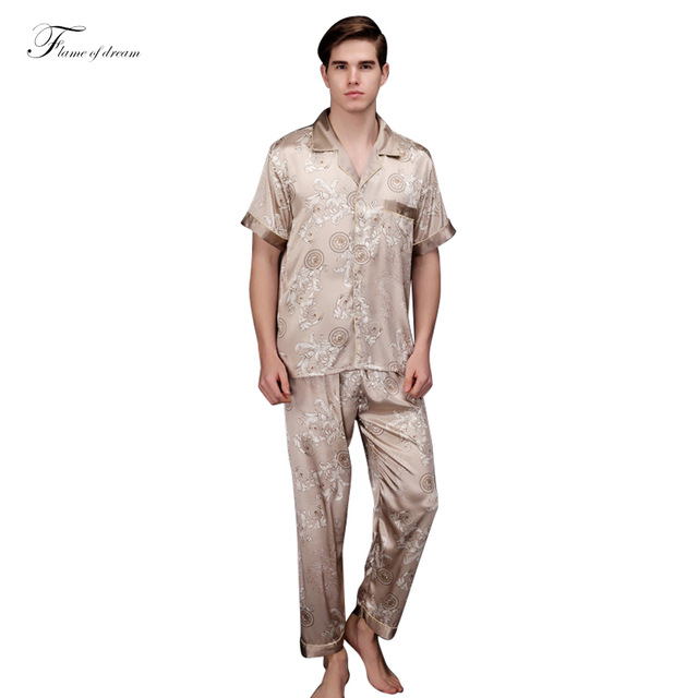 Mens Satin Pajama  Men Pijama Satin Men Pajamas Men Sleepwear Sets  312