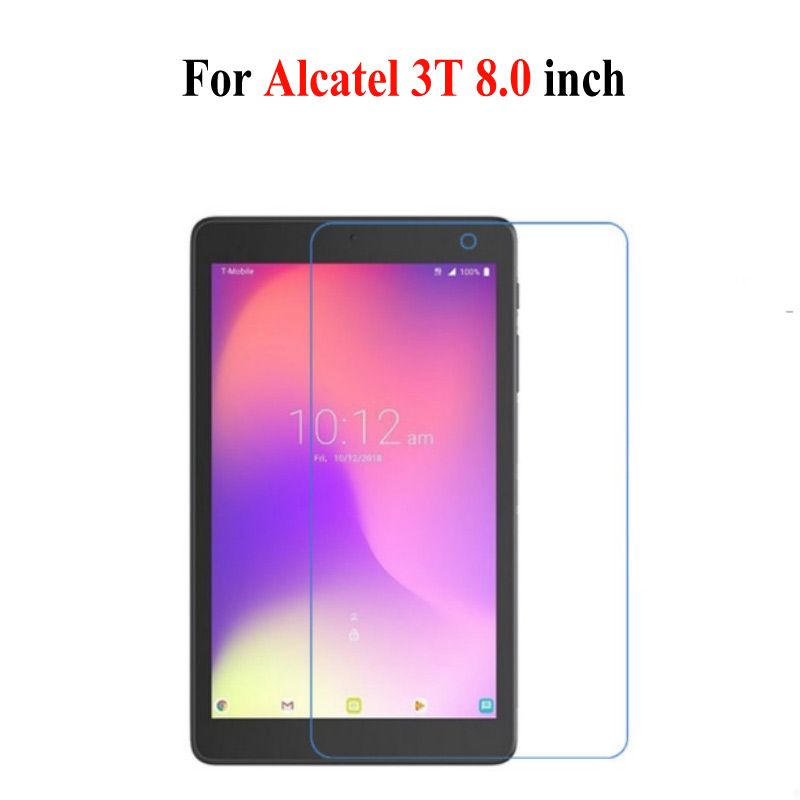 9H Tempered Glass For Alcatel A30 Tablet 8.0 Inch Tablet Glass For Alcatel 3T 8 Tablet 8.0 Inch Screen Protector Glass Film