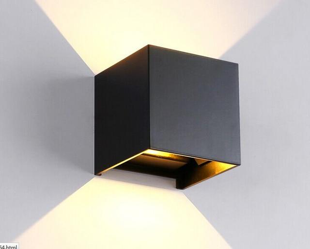 Lampade Da Parete Per Esterni : Vioslite piazza impermeabile lampada da parete per esterni sitting