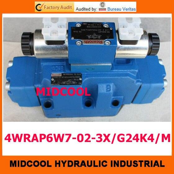 high quality hydraulic valve   4WRAP6W7-02-3X/G24K4/M