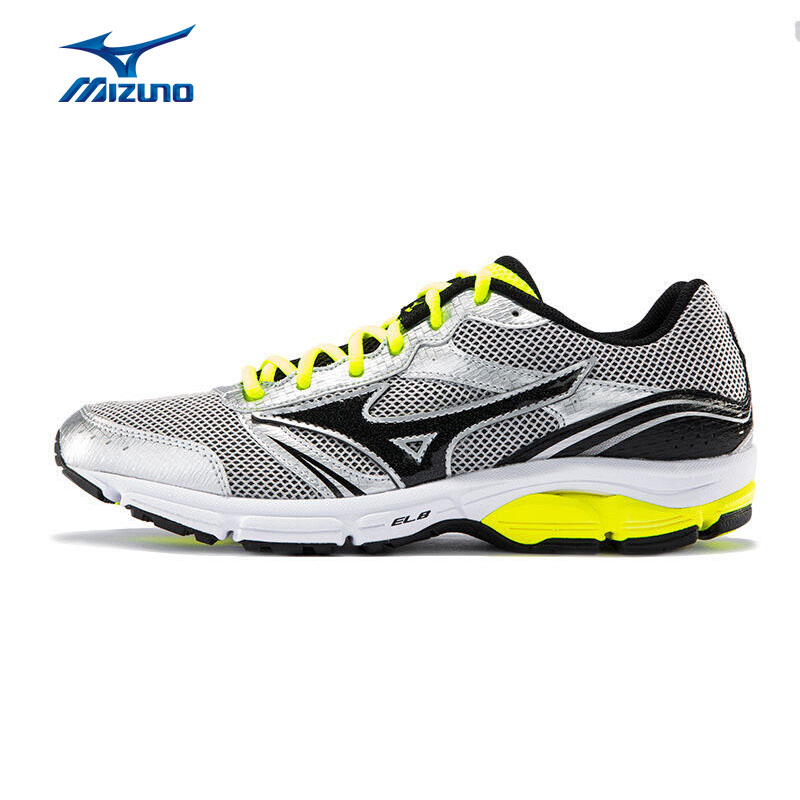 MIZUNO Men WAVE IMPETUS 3 Mesh Breathable Light Weight Cushioning Jogging Running Shoes Sneakers Sport Shoes J1GE151307 XYP280 цена