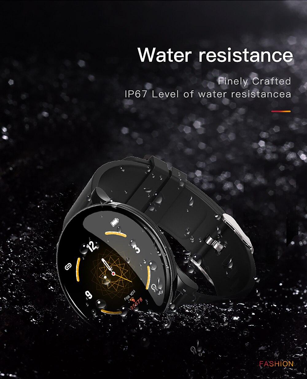 Cobrafly W8 Smart Watch Blood Pressure Fitness Tracker