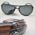 2016 óculos de Sol de Alumínio e magnésio liga Novos high-end óculos polarizados dos homens de condução Óculos De Sol Anti alergia À prova de Corrosão
