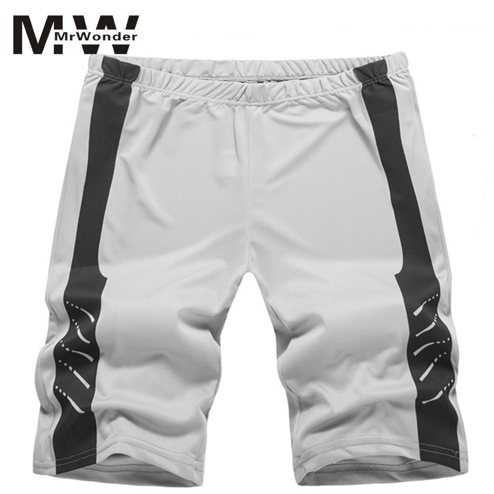 mrwonder Summer Cotton Shorts Men Fashion Brand Boardshorts Breathable Male Casual Shorts Comfortable Plus Size Cool Short SAN0