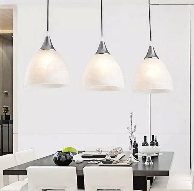 3 Cabeça lustre Luz para Sala De Jantar Moda Pastoral luzes Bar lâmpadas AC85-265V Downlight