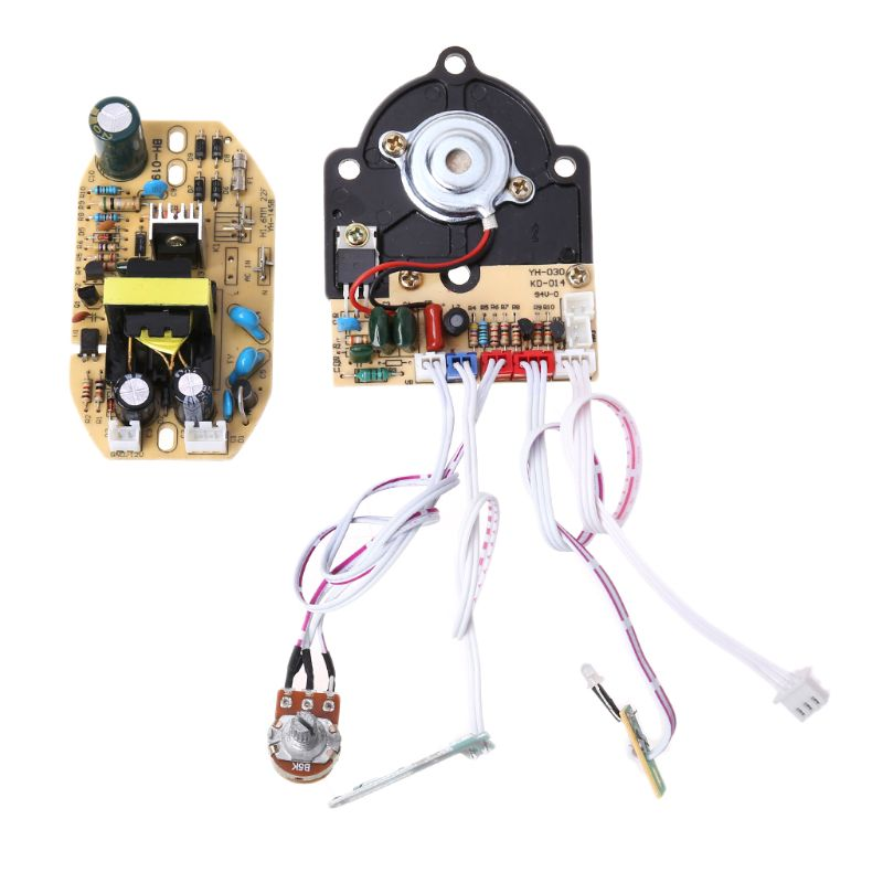 Replacement Humidifier Parts 28V Humidifier Control Panel Board Potentiometer With Switch Power Supply Board Nebulizer Plate