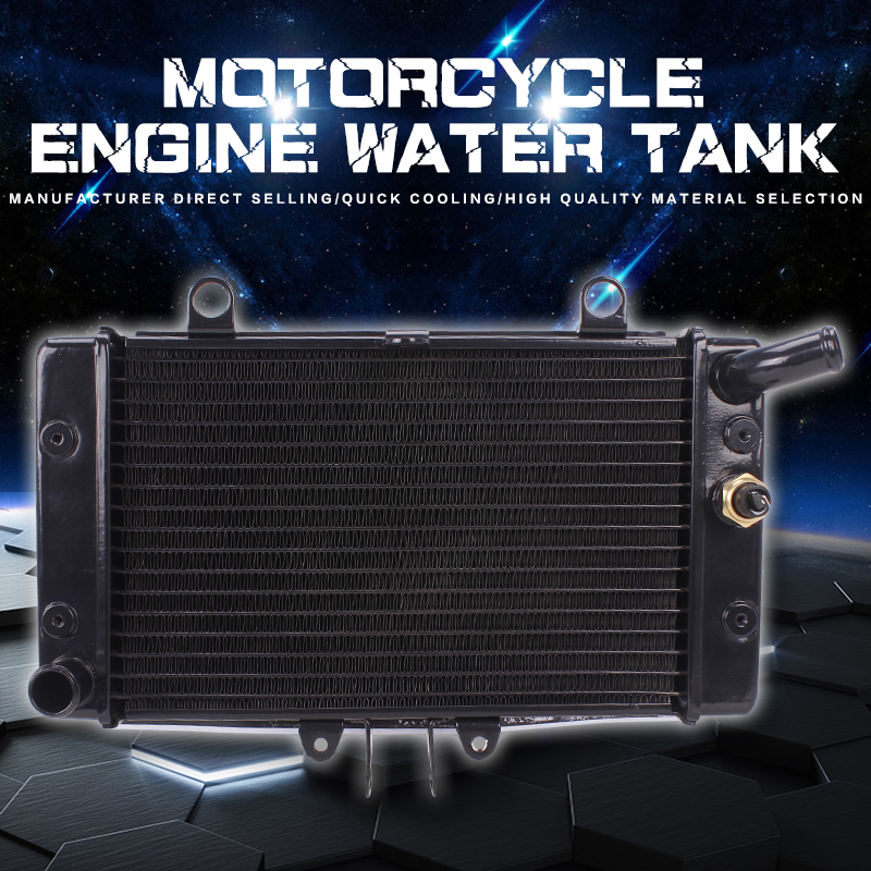 Water Tank Radiator Cooler Water Cooling With Temperature Sensor Thermostat For HONDA CB-1 Motorcycle Accessories for honda cb 500f cb 500x cb 650f 2016 2017 2018 motorcycle cnc fuel gas tank cap cover motorbike accessories