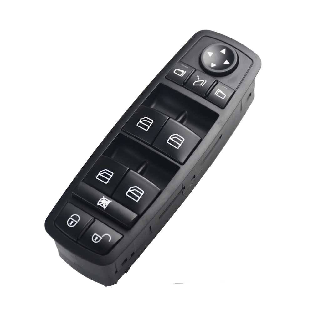 <font><b>A1698206710</b></font> A 169 820 6710 Newest Electric Power Window Master Switch Fits For Mercedes Benz B Klasse W245 W169 A Klasse image