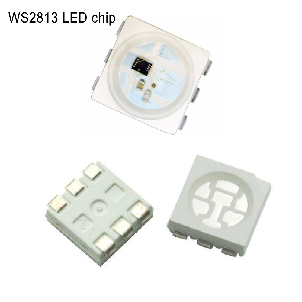 WS2813 Strip Light Chip 6PIN 5050RGB Black/White Version WS2813 ...