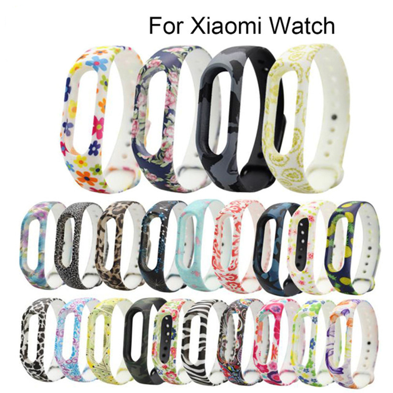 Colorful Accessories For Mi Band 2 Straps Bracelet For Xiaomi Mi Band 2 Wristband Strap Replacement Silicone Watchbands