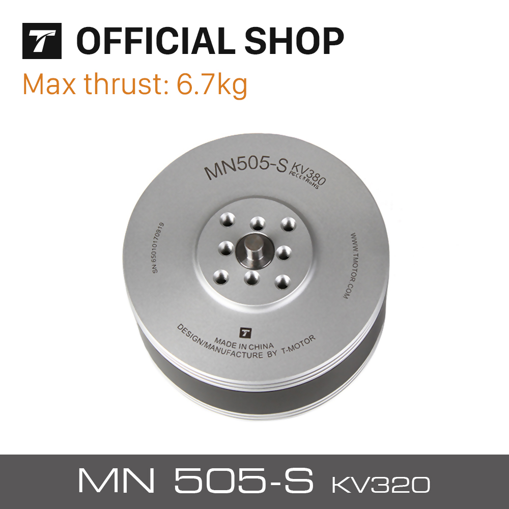 T-Motor Newest Navigator Series MN505-S KV320 Brushless Electrical Motor For Multirotor Aircraft RC Drone Accessories t motor series mn3515 400kv navigator series motor for quad hexa octa multicopter