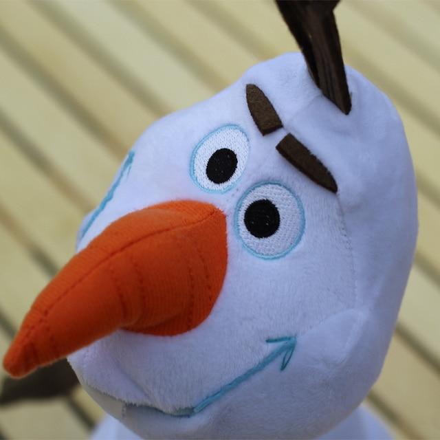 Плюшевая игрушка Олаф мультфильм Холодное Сердце 30 см 3