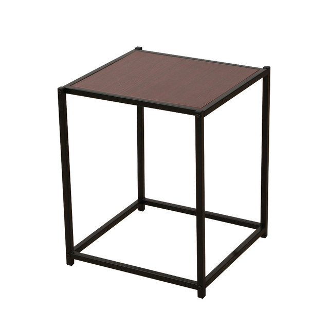 Modern Square Single Layer End Table Living Room Furniture Storage Night Stand Us