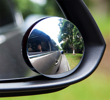 Parking Car Accessories Wide-angle Lens Wide Angle Round Convex Blind Spot mirror for parking Rear view mirror car Accessories