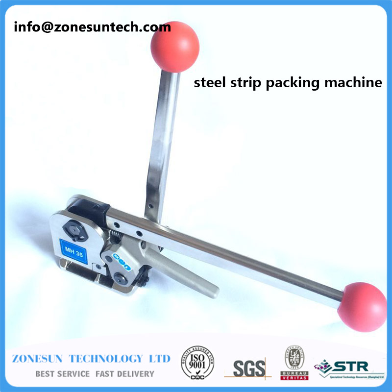 NEW mh35 Manual Sealless Steel Strapping Tools for strap steels width from 16 to 25mm free shipping low price high quality a333 manual sealless combination steel strapping machine without buckles for 13 19mm
