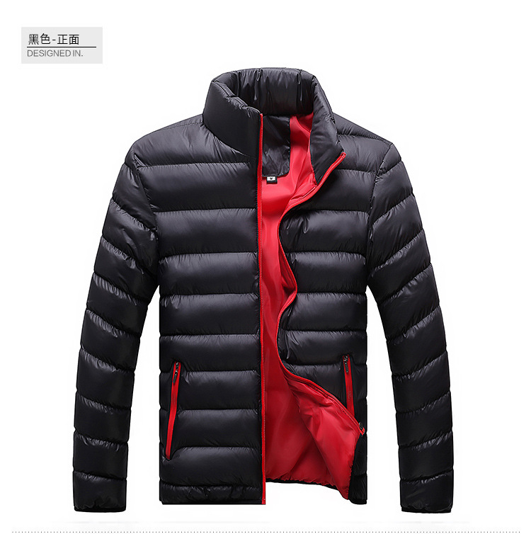 Winter Jacket Men 2019 Fashion Stand Collar Male Parka Jacket Mens Solid Thick Jackets and Coats Man Winter Parkas M-6XL 27