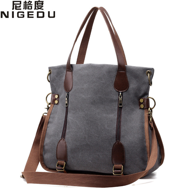 Fashion Canvas Big Women Handbags Ladies Shoulder Bags Women Famous Brands Large Captain Casual Tote Bags Shopping Bag Totes free shipping casual canvas shopping bags black color with fish pattern shoulder bags shopping bag handbags e08