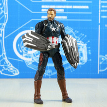 The Avengers Iron Man Captain America Venom Thanos SpiderMan Deadpool Falcon Black Panther PVC Action Figure Toys For Children-in Action & Toy Figures from Toys & Hobbies on Aliexpress.com | Alibaba Group